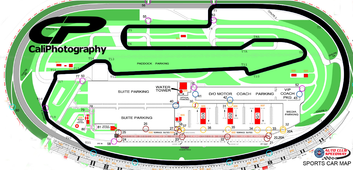 Auto Club Speedway Map