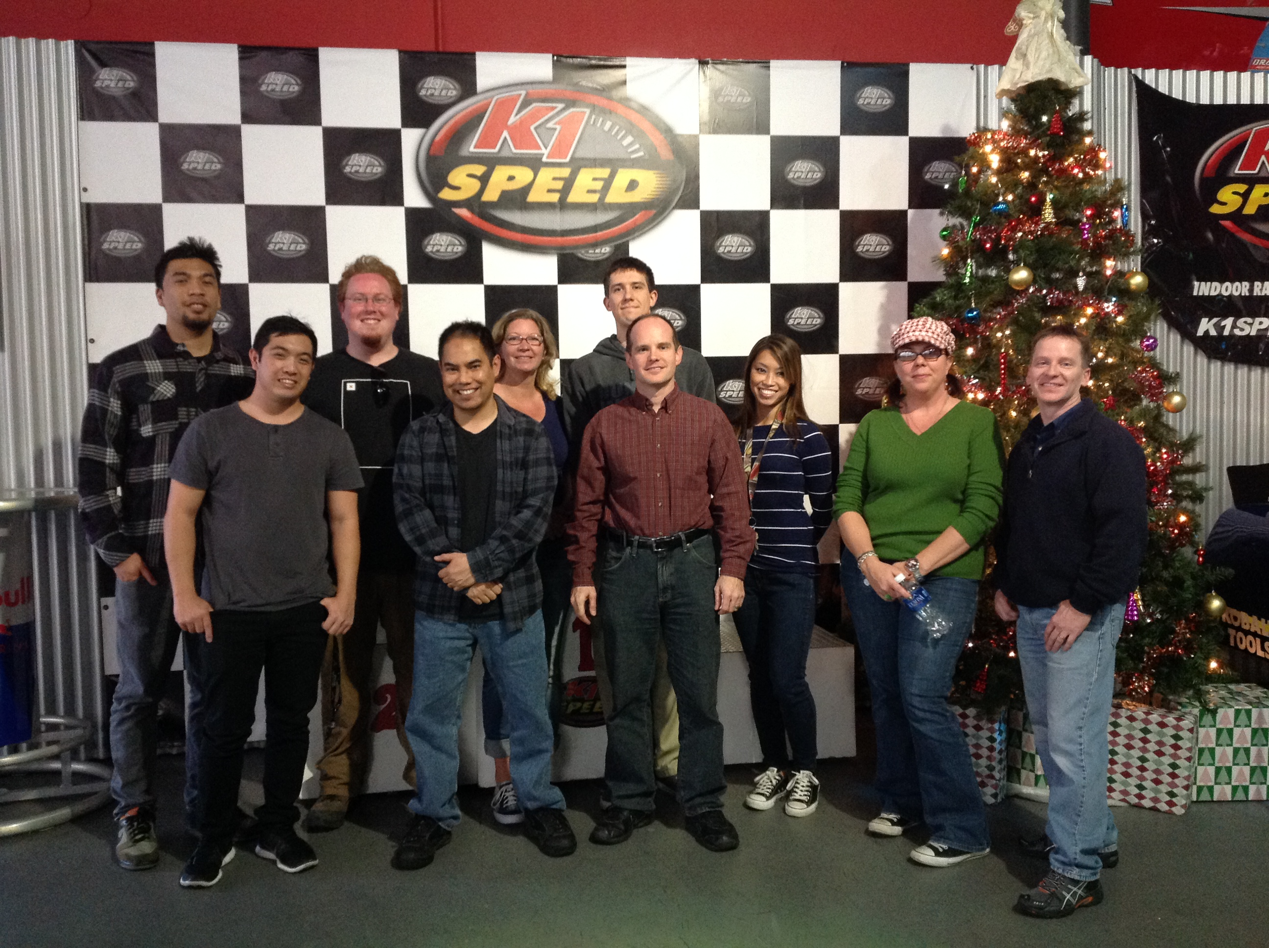 PCI Staff at K1 Speed