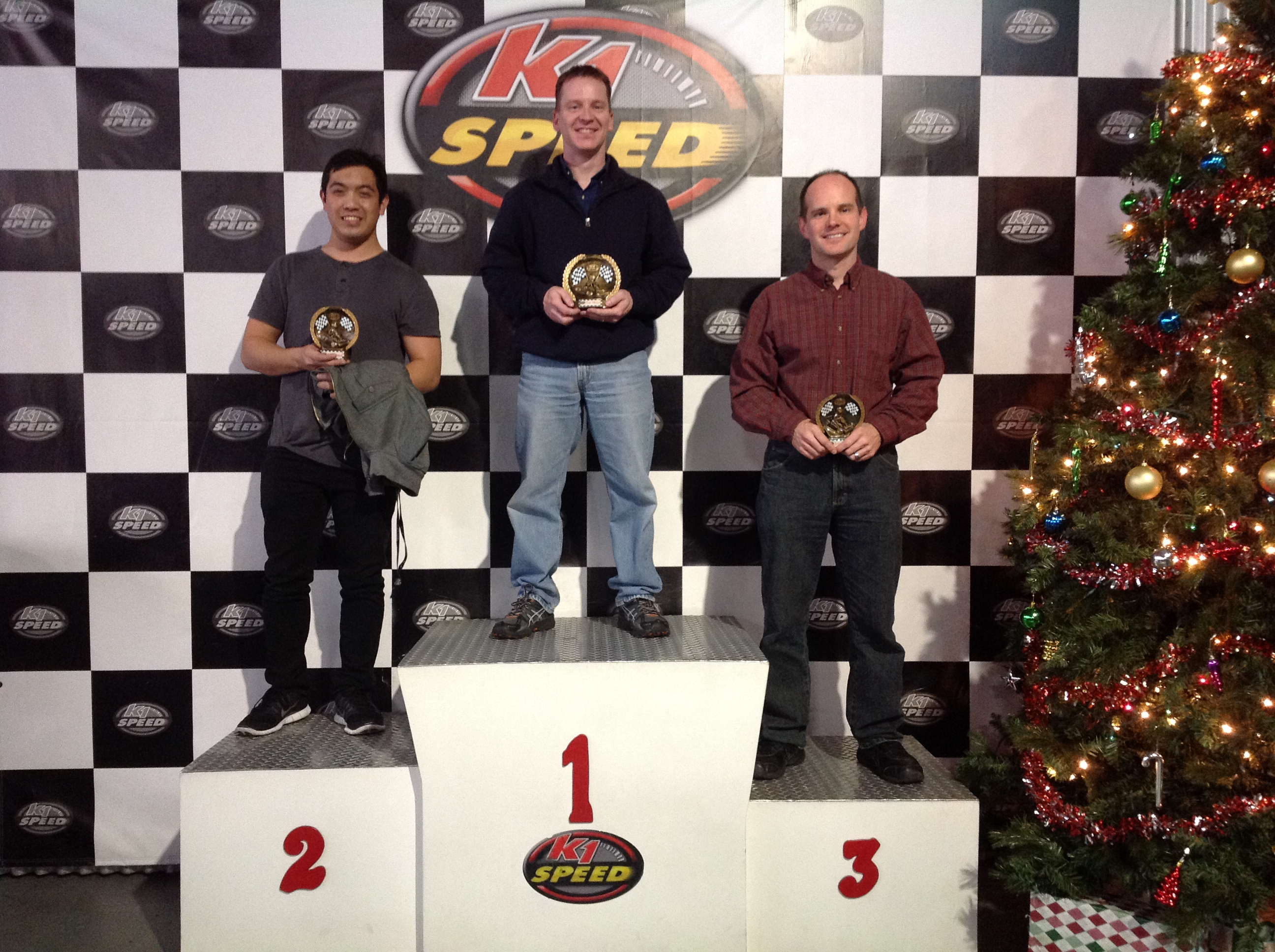Winners at K1 Speed