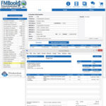 FM Books Connector Online Demo -View customer payment data