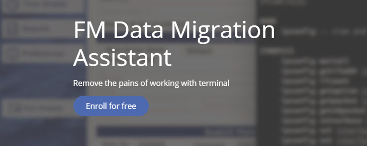 FM Data Migration Assistant Course
