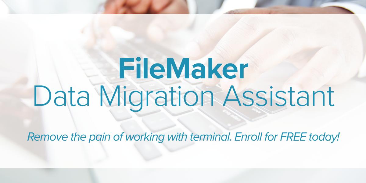 Data MIgration Assistant Header
