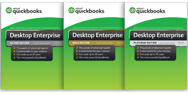 QuickBooks Enterprise 2019 Software