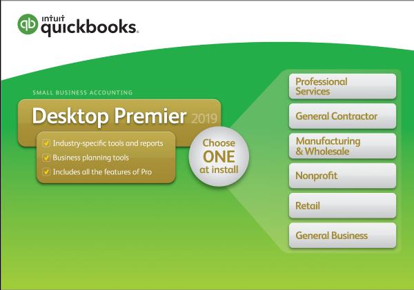 Buy QuickBooks Premier 2019 Software