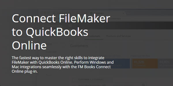 Connect FileMaker to QuickBooks Online FileMaker Training Course