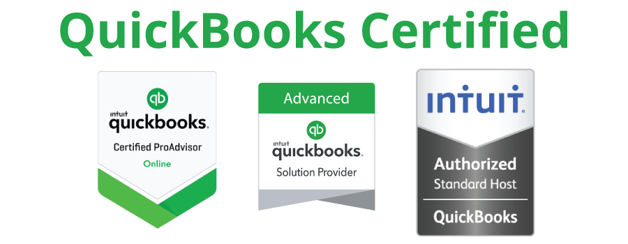 QuickBooks and intuit Certified