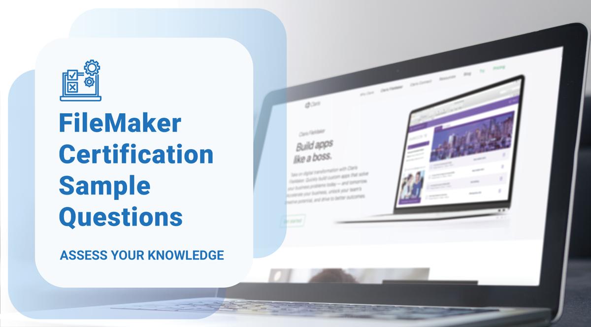 FileMaker Certification Sample Test