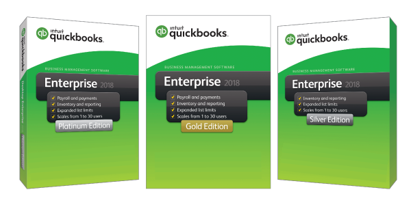 QuickBooks Enterprise 2018 Licensing