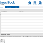 Address Book Manipulator Contacts