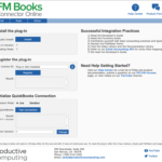 Register the FM Books Connector Plugin